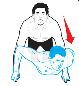 triangle-pushup
