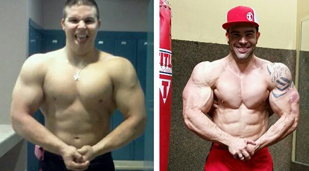 steroids before and after pictures