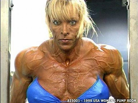 Girls on roids