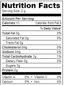 sugar-nutrient-profile